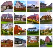 比利时乡间别墅 一个迷人的房子特点比利时乡村模式 免版税图库摄影