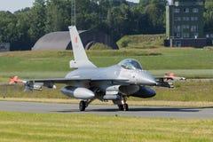 比利时人空军队F-16战斗机航空器 免版税库存照片