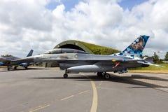 比利时人AF F-16 免版税图库摄影