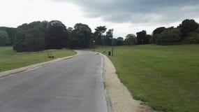 比利时公园自然秀丽和平 免版税图库摄影