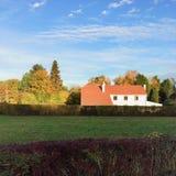 比利时农舍 免版税库存照片