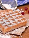 比利时华夫饼干 免版税图库摄影