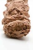 比利时块菌状巧克力 免版税图库摄影
