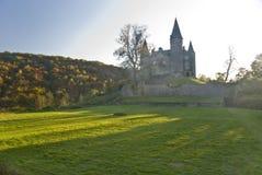 比利时城堡veves 免版税库存照片