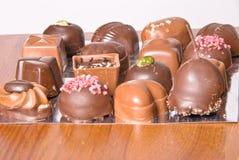 比利时巧克力 免版税库存图片