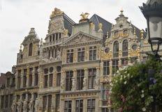 比利时布鲁塞尔全部安排 库存照片