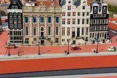 比利时布鲁塞尔 9月27日2014 9月的27日微型欧洲, 库存图片