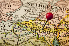 比利时布鲁塞尔 免版税库存照片