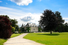 比利时布鲁塞尔chateau de hulpe la 库存照片