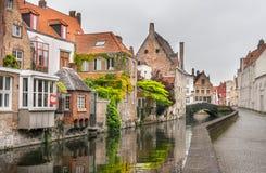 比利时布鲁日 库存照片