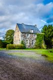 比利时房子 免版税库存图片