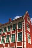 比利时房子 免版税库存照片