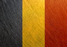 比利时旗子葡萄酒,减速火箭,被抓, 图库摄影
