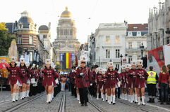比利时的国庆节 免版税图库摄影