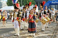 比利时的国庆节 库存照片