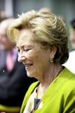 比利时的女王Paola 免版税图库摄影
