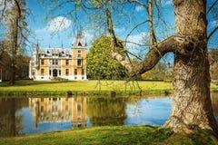 比利时的浪漫城堡 免版税库存照片
