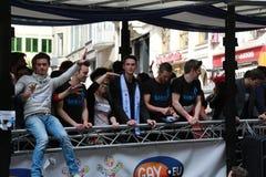 比利时自豪感2013年- 06 库存照片