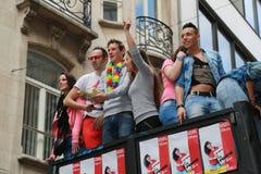 比利时自豪感2013年- 04 免版税库存图片