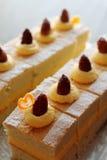 比利时蛋糕,凄惨 库存图片