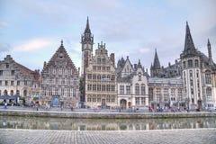 比利时跟特 免版税库存图片