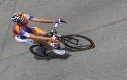 比利时骑自行车者Wynants Maarten 图库摄影