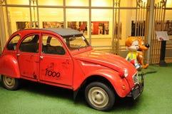 比利时,布鲁塞尔美丽如画的漫画博物馆  免版税库存图片