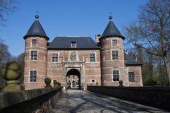 比利时bijgaarden城堡groot 免版税图库摄影