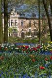 比利时bijgaarden庭院groot 免版税库存图片