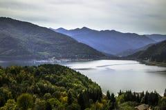 比卡兹水坝在Piatra Neamt,罗马尼亚 免版税库存照片