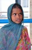 比哈里语女孩印地安人 库存照片