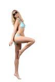 比基尼泳装妇女 图库摄影