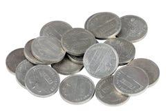 比塞塔硬币 免版税库存图片