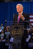 比尔・克林顿前总统告诉 图库摄影
