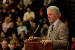 比尔・克林顿总统 库存图片