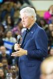 比尔・克林顿总统在宾夕法尼亚 库存照片
