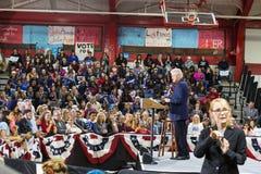 比尔・克林顿总统竞选在宾夕法尼亚的 免版税图库摄影