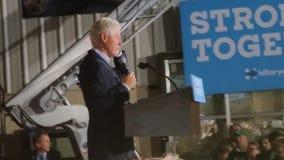 比尔・克林顿总统 库存照片