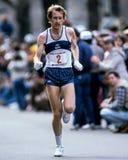 比尔Rodgers波士顿马拉松运动员 库存图片