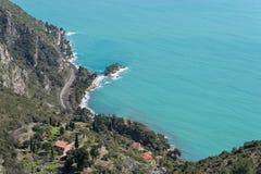 比尤利,法国海滨海湾  免版税图库摄影