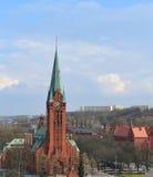比得哥什,城市在波兰。 免版税库存照片