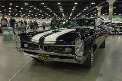 1967年比德GTO敞篷车 库存照片