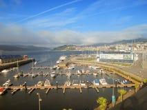 比戈,加利西亚,西班牙港  免版税库存照片
