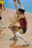 比拉罗斯冠军fivb s排球妇女 免版税库存照片