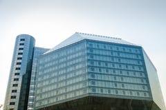 比拉罗斯国家图书馆 免版税库存照片
