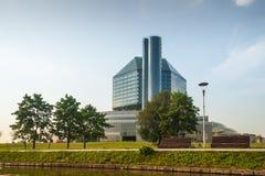 比拉罗斯国家图书馆 免版税图库摄影