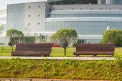 比拉罗斯国家图书馆 库存图片