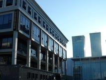 比拉罗斯图书馆米斯克国民共和国 库存图片