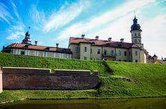 比拉罗斯城堡nesvizh 库存图片