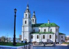 比拉罗斯大教堂圣洁米斯克精神 免版税图库摄影
